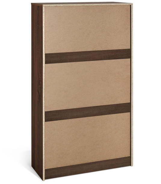 CAP LIVING 3 Tier Drawer Modern Shoe Storage Cabinet Organizer