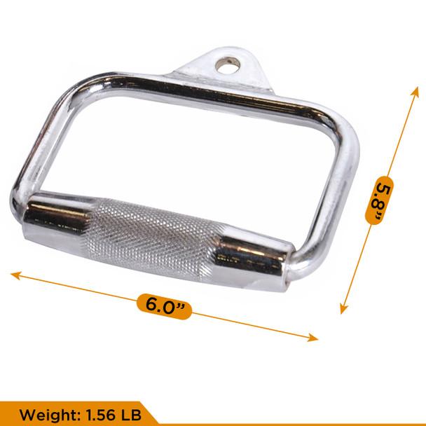 CAP Barbell 60'' Lat Bar 2pc D-Shaped Attachment & Multi-Exerciser Attachment Set