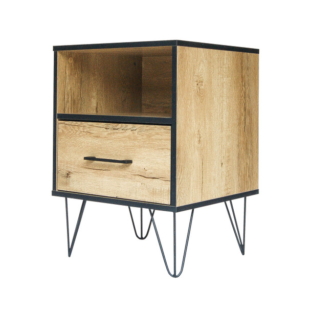 End Table w/ one Drawer,  Nightstand