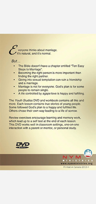 Youth Studies DVD