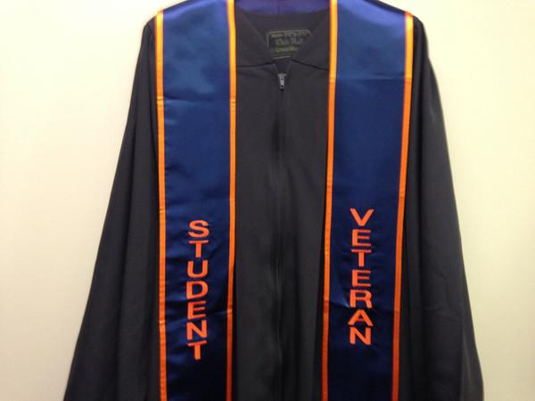 Student Veteran Graduation Stoles
