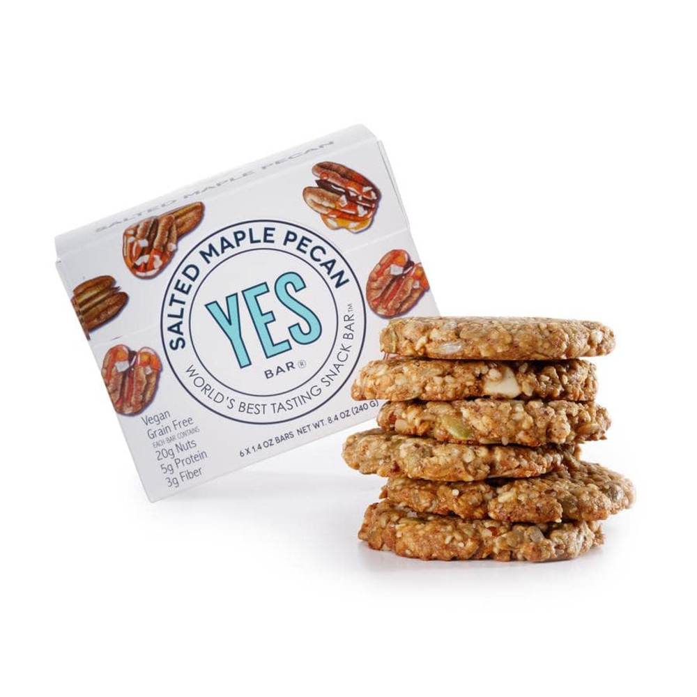 The Yes Bar Salted Maple Pecan CS6