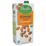Pacific Unsweetened Almond Milk [12/32oz]