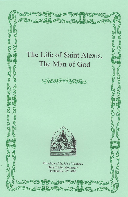 The Life of St. Alexis the Man of God