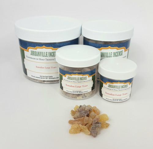 Jordanville Natural Incense - Somalian Frankincense Large Tears