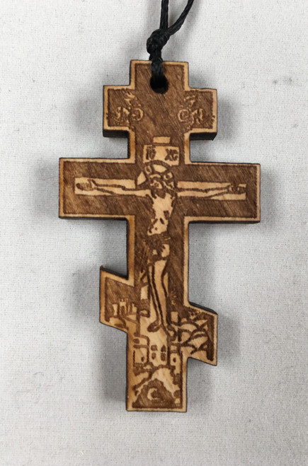 Wooden Baptismal Cross 1