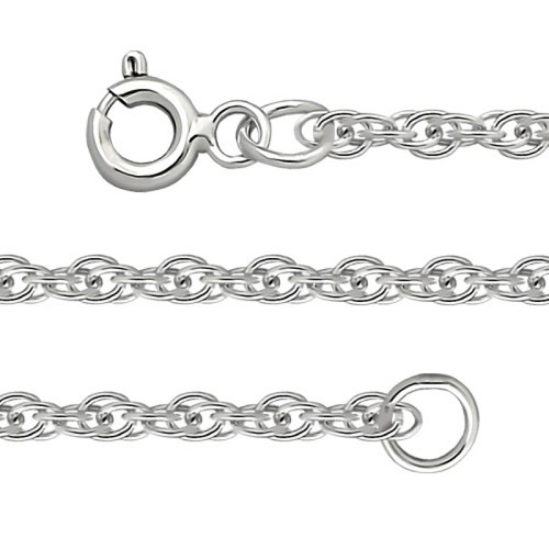 Silver Sterling Chain, Cord 0.4 mm