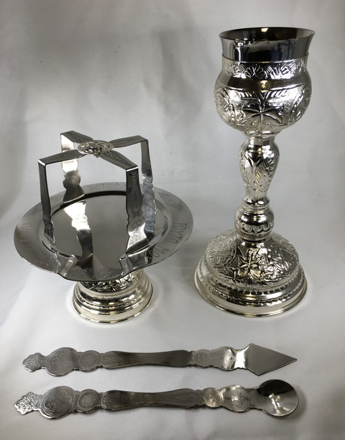 Chalice Set Silver Plated