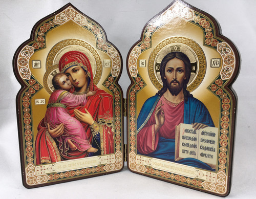 Diptych of the Lord and the Theotokos 1