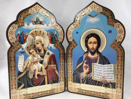 Diptych of the Lord and the Theotokos 2