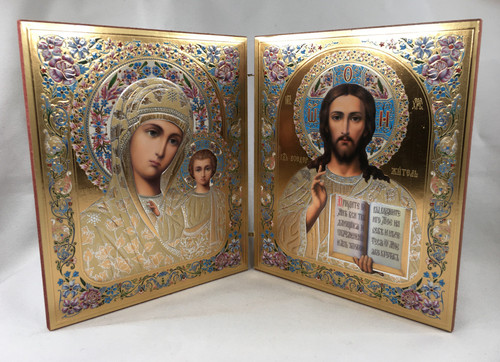 Diptych of the Lord and the Theotokos 3