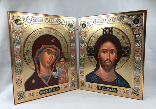 Diptych of the Lord and the Theotokos 4