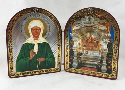 Small Diptych of Blessed Matrona of Moscow