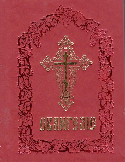 Священное Евангелие на Церковнославянском языке (крас.)