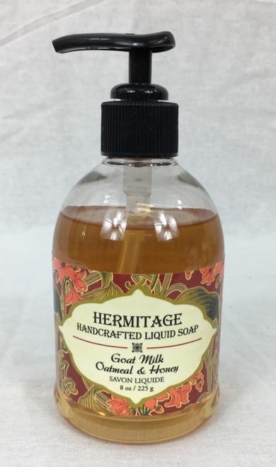 Goat Milk Oatmeal & Honey Liquid Soap