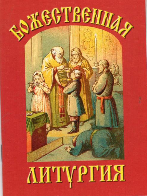 Божественная литургия с обьяснительым текстом