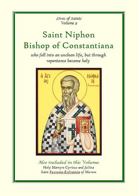 LOS09 Saint Niphon, Bishop of Constantiana
