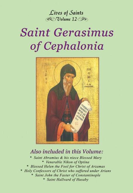 LOS12 Saint Gerasimus the New of Cephalonia