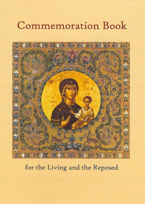 Commemoration Book - Theotokos