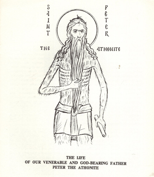 The Life of our Venerable and God-Bearing Father Peter the Athonite
