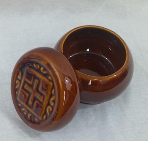Ceramic Jar for Prosphora