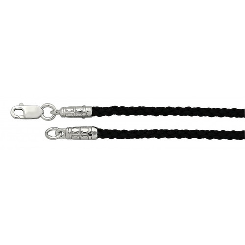 Cord with a silver clasp 2