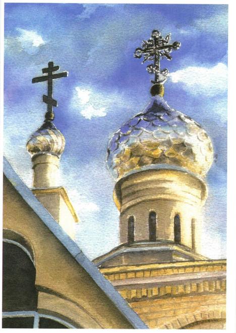 Greeting Card - Monastery 05