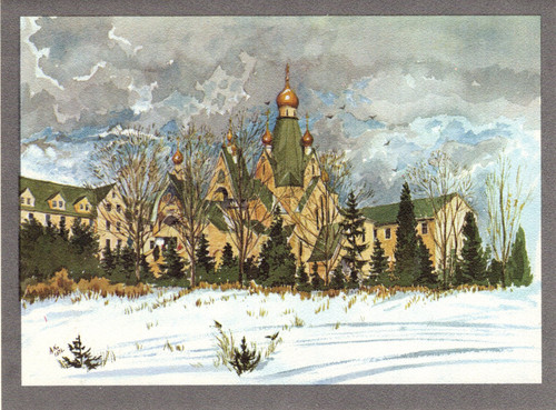 Greeting Card - Monastery 02