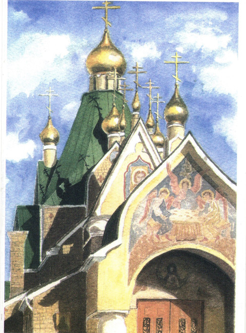 Greeting Card - Monastery 03
