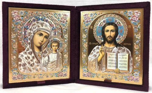 Wedding Icons in a Velvet Case Large