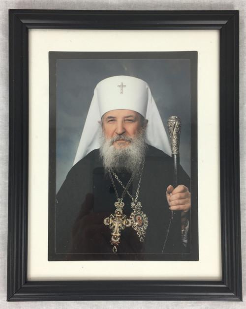 Photograph of Metropolitan Laurus in Black Frame