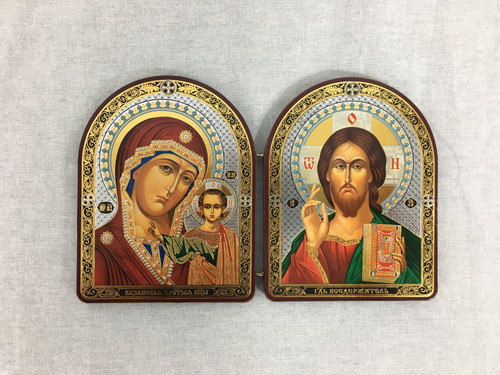 Diptych of Christ and Theotokos