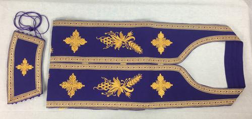 Epitrachelion and Cuffs Set - Purple 1