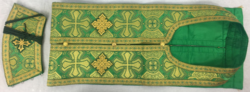 Epitrachelion and Cuffs Set - Green