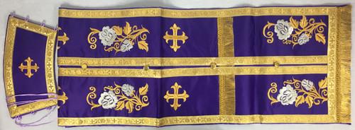 Epitrachelion and Cuffs Set - Purple 3