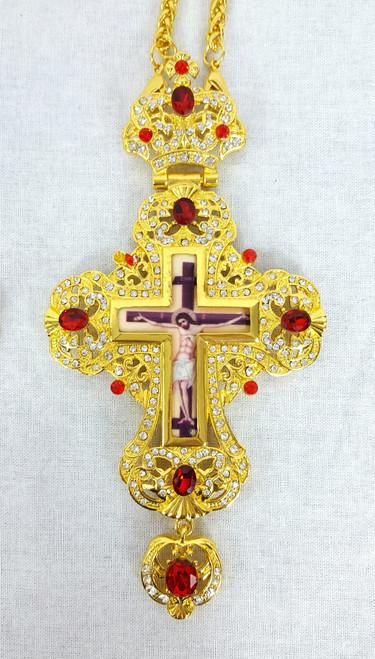 Jeweled Pectoral Cross 1