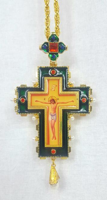 Jeweled Pectoral Cross 7