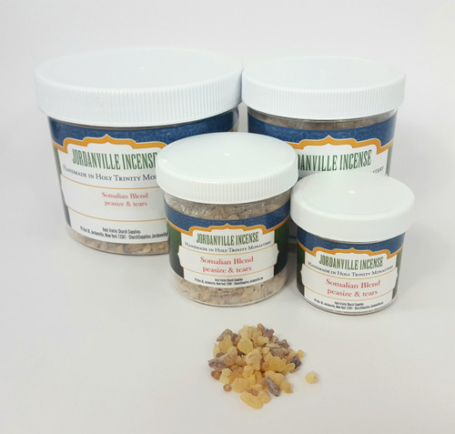 Jordanville Natural Incense - Somalian Blend Frankincense - Peasize and Tears