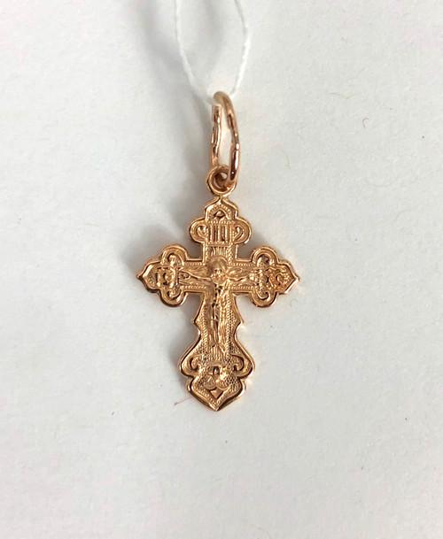 Gold Cross 14kt - 393
