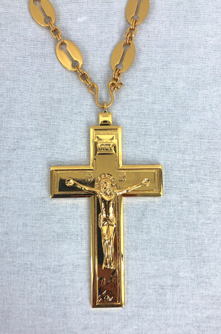 Pectoral Cross Gold Plated 1