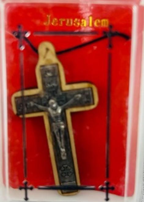Jerusalem Cross 3 (Wood and Metal)