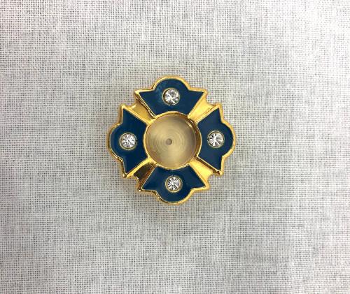 Reliquary with enamel