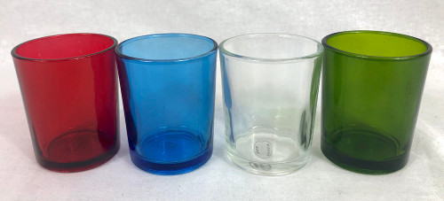 Glass for votive candles