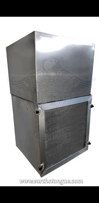 "ALUMINUM Flow Hood Flow Bench 2ft x2ft 24"" X 24"""