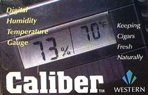 CALIBER III DIGITAL HUMIDTY AND TEMPERATURE GAUGE