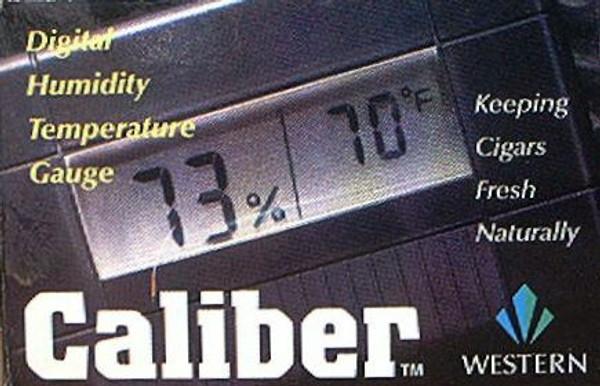 CALIBER III DIGITAL HUMIDTY AND TEMPERATURE GAUGE