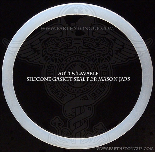 Autoclavable Silicone Gasket for Regular Mouth Jars 2