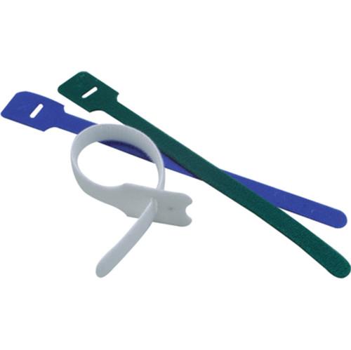 Excel Hook & Loop 25m Reel of Individual Ties - Black