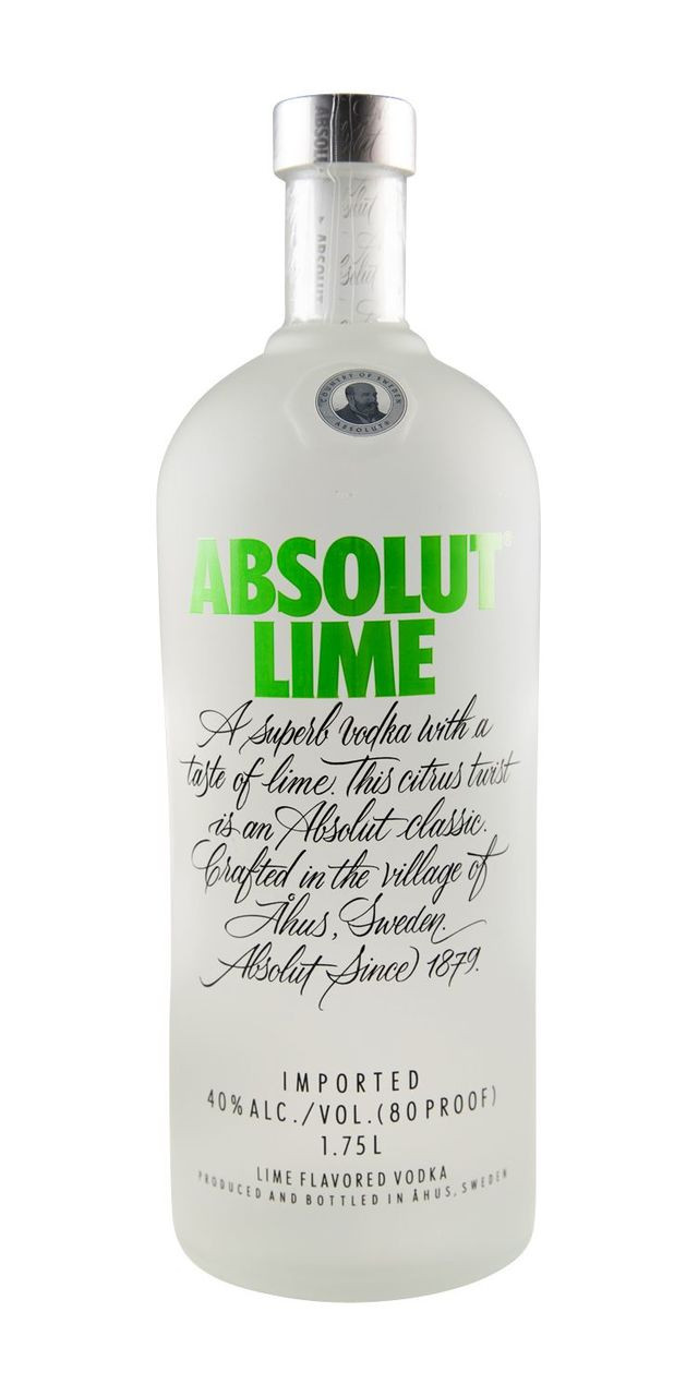 Absolut Lime 1 75L