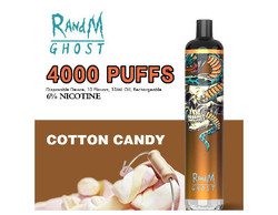 R AND M GHOST 4000 PUFFS